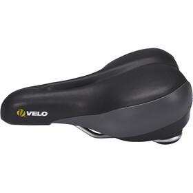 Velo Plush Comfort Saddle Dame black/grey